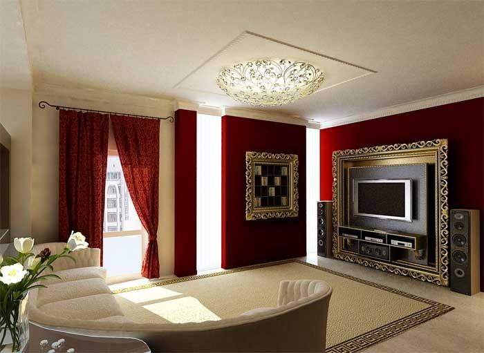 Интерьер залы в частном доме своими руками фото